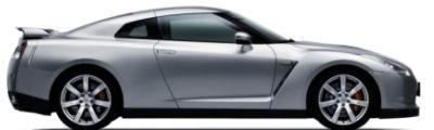 Photo du design extérieur de la Nissan GT-R