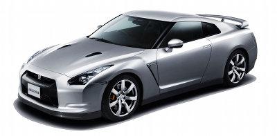 Présentation de la première Nissan GT-R, sortie en 2008.