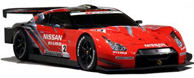 Présentation de la version de course de la Nissan GT-R: la <b>Nissan GT-R GT500</b>.